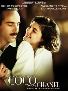 "Audrey Tautou as Coco Chanel in ""Coco Avant Chanel"", a film by Anne Fontaine (2009)   #CocoChanel #CocoAvantChanel Visit espritdegabrielle.com   L'héritage de Coco Chanel #espritdegabrielle"