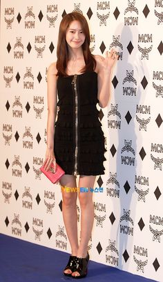 Yoona during the MCM event