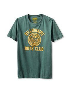 50% OFF Billionaire Boys Club Men's Shortsleeve Boys Seal T-Shirt (Heather Green)