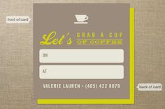 Florist business card photography business card by thepapergirlco coffee meetup business cards by momo at minted so great for networking colourmoves