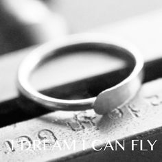 10mm 18g Silver Nose Ring / Cartilage Hoop  One by idreamicanfly, $17.50