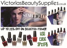 OPI - STARLIGHT COLLECTION - Holiday 2015