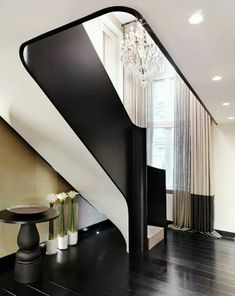 Dramatic Staircase by Kelly Hoppen
