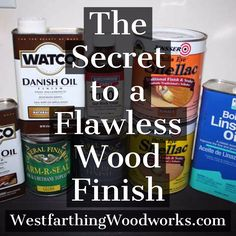 Here is the secret to wood finishing. This is just about the only thing you really need to know and apply when it comes to creating a beautiful finish on wood. If you get this one thing right, you can overcome a lot of other mistakes along the way and still end up with a great looking finish. Enjoy the post and happy building.
