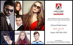 ARCADIO is proud to participate and showcase its entire range of lifestyle products in this Grand expo. Fashion Eyewear, Online Shopping Sites, Corporate Gifts, Chennai, Range, India, Lifestyle, Glasses, Leather