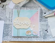 Santun Maja: Kihlajaiskortti siilillä #cardmaking #craftideas #card #diy #weddingcard #askartelu #askarteluideoita #kortti #lawnfawn #hedgehog #love