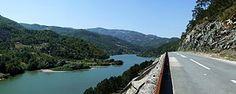Potpeć Reservoir and road Prijepolje-Priboj