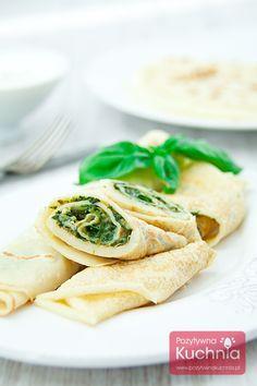 #Nalesniki ze #szpinak.iem na #obiad - #przepis krok po kroku  #kuchnia