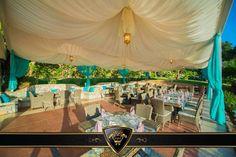 Akdeniz güneşinin altında Osmanlı Restaurantı. Ottoman Restaurant under the sunset over the Mediterranean. #VogueHotels & #Resorts #Holiday #Akdeniz #Osmanlı #Restaurant