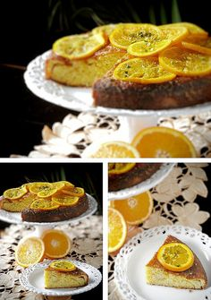 Olive Oil & Orange Cake with Pistachios