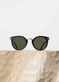 fake celine luggage - Celine - Shadow Black & Havana Acetate Sunglasses, Brown Shaded ...
