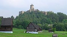 Castle of Lubovna and museum of slovak village European Countries, Pedestrian, Eastern Europe, That Way, Everything, Castle, Museum, Mansions, Landscape