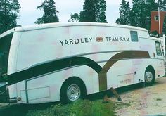 BRM 'Yardley' team transporter.