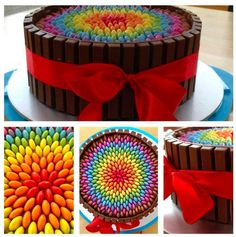 Wow amazing cake #bithday I'm sooo doing this fir my bday