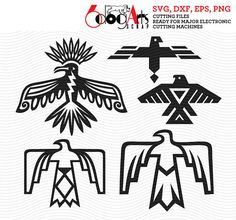 28 Collection Of Native American Thunderbird Drawings Native American Symbols, Native American Design, Native American History, Native American Patterns, Native Design, American Indians, Paper Embroidery, Learn Embroidery, Embroidery Patterns