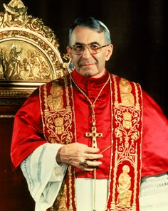 Pope John Paul I. IMAGE (AP Photo)
