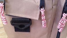 Paracord Zipper Pulls (Tie On Type) Pink Camo #RockSolidTactical