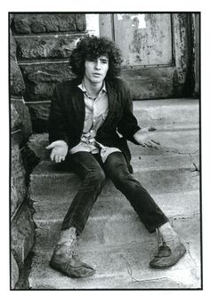 Tim Buckley photo by Linda McCartney.  Linda McCartney gets alot of bad press but her photographs are some of the most important of the sixties. This a real beauty and shows Buckley's vulnerability.