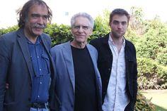 """Robert Pattinson e David Cronenberg estiveram em Portugal na antestreia de """"Cosmopolis"""" (com vídeo)"""