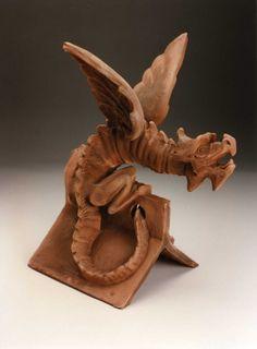 Terracotta Characters | Handmade clay tiles | Keymer