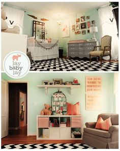 I love all of these ideas for baby's room!! Hopefully be able to pick one after knowing the sex and of course with Landen's help.