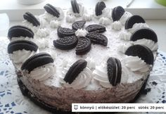 Oreo torta Ale, Cheesecake, Cooking Recipes, Baking, Food, Hungary, Deserts, Ale Beer, Cheesecakes