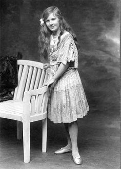 Marguerite Lanvin, 1910s. Daughter of Parisian couturier Jeanne Lanvin.