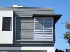 aluminium sliding shutter - Google Search