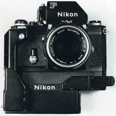 Nikon F Photomic FTn + F-36 Motor Drive & Battery Pack with 50mm f/1.4 Nikkor lens... during the 1970s I carried two of these camera set-ups (with different lenses), one over each shoulder - which is not recommended for one's natural posture! Image © 1998 Ed Buziak.