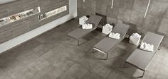 Italian Stoneware Pocelain and Ceramic Tiles  - Hard Rock Beton - Tagina Ceramiche;