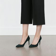 Image 2 of HIGH HEEL COURT SHOES from Zara