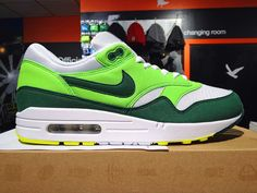 soldes nike air max 1 essential gorge green