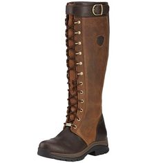 586a5533a311 Ariat Berwick GTX Insulated Ladies Boots - Ebony Riding Hats, Lace Up Riding  Boots,