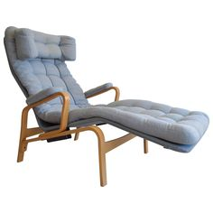 Sam Larsson for DUX Reclining Lounge Chair | 1stdibs.com