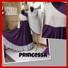 Baju  Gamis Syari Princessa Modern Dan Terbaru