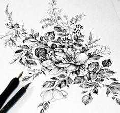 "3,907 Likes, 50 Comments - •Diana Severinenko (@dianaseverinenko) on Instagram: "" #artmagazine #artwork #artgalery #worldofartists #art_spotlight #sketch_daily #flowers #drawing…"""