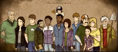 Larry, Lilly, Doug, Omid, Christa, Lee, Clementine, Carley, Ben, Kenny, Duck, Katjaa and Chuck.