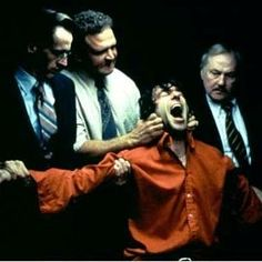 In the Name of the Father: Gerry Conlon is tortured during Police interrogation