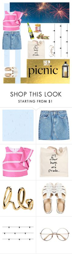 """""""Fireworks in the Park."""" by chiarapers ❤ liked on Polyvore featuring Anine Bing, MANGO, Prada, Chloé, ASOS, Seletti, PolyvoreComunity and polyvorepeople"""