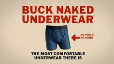 Gift Ideas for the Dad who is into endurance sports: Duluth Trading Buck Naked Underwear