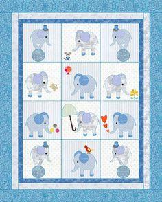 Little girls quilt pattern Elephants image 4 Elephant Quilts Pattern, Elephant Blanket, Patchwork Quilt Patterns, Patchwork Baby, Crazy Patchwork, Hexagon Quilt, Applique Patterns, Applique Ideas, Boy Quilts