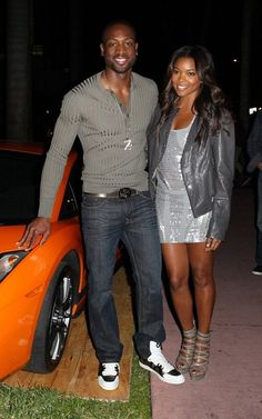 Dwayne Wade and girlfriend Gabrielle Union