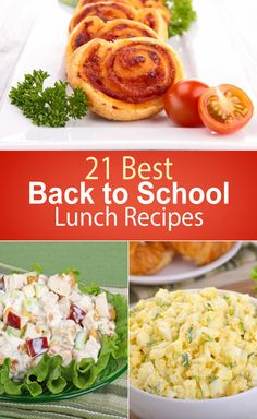 21 Best Back to School Lunch Recipes
