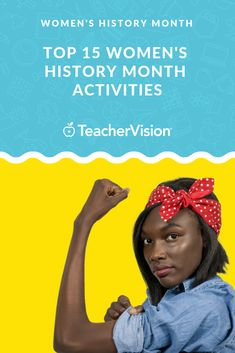 Celebrate Women's History Month (March) with one or all of our Top 15 Favorite Women's History Month Activities. There are printables, lesson plans, and more resources for you to enjoy with your class. First Day Activities, Activities For Girls, History Activities, Spring Activities, Teaching History, Teaching Kids, Teaching Resources, African American Inventors, American History