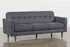 Shop for London Dark Grey Sofa at LivingSpaces.com. Enjoy free store pick-up, same day shipping and free assembly.
