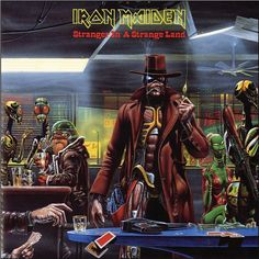 "Iron Maiden - Stranger In A Strange Land on Limited Edition 7"" Vinyl"