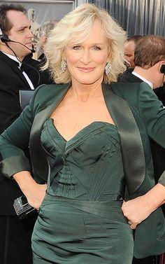 Glenn Close, 66 hope I look like this at 66!