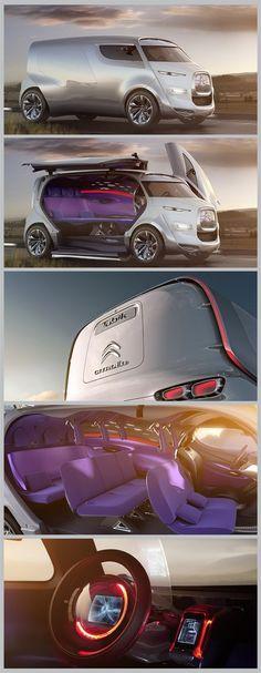 O futurista conceito da van Tubik da Citroën. Demais! - https://www.luxury.guugles.com/o-futurista-conceito-da-van-tubik-da-citroan-demais/