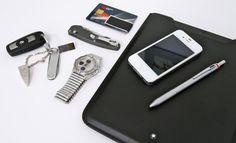 Car key with: Pico 8GB USB, Dupont keychain