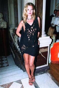 In Galliano, at a show celebrating the designer in Paris, 2003.